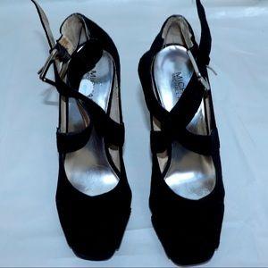 Michael Kors heels suede shoes